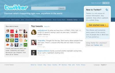 Com personalitzar el fons de la pàgina de Twitter?
